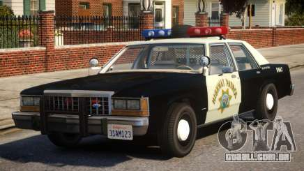 1987 Ford LTD Crown Victoria ELS para GTA 4