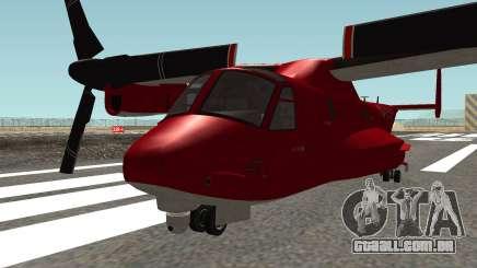 Mammoth Avenger GTA V para GTA San Andreas