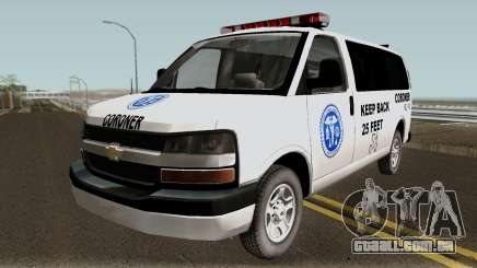 Chevrolet Express Coroner 2010 para GTA San Andreas