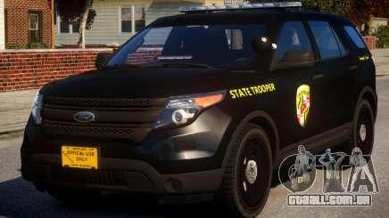 Maryland Ford FPIU para GTA 4
