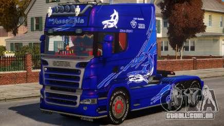 Scania R580 Longline Custom PJ8 para GTA 4