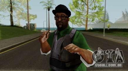 Big Smoke with Gunshots para GTA San Andreas