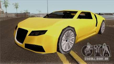 Adder GTA V (SA Style) para GTA San Andreas