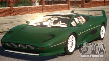 Jaguar XJ220 Sport Version para GTA 4