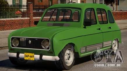 Renault 4 para GTA 4