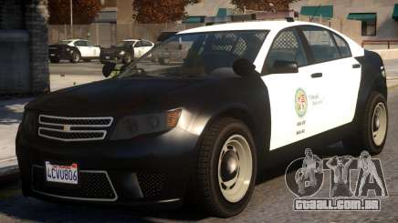 Cheval Fugitive Actuator PPV LSPD para GTA 4