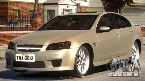 2012 Chevrolet Omega para GTA 4
