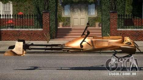 Star Wars Speeder Bike V 2.1 para GTA 4