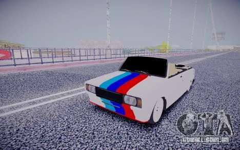 VAZ 2104 Conversível para GTA San Andreas vista traseira
