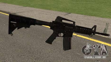 COD: Modern Warfare Remastered M4A1 para GTA San Andreas segunda tela