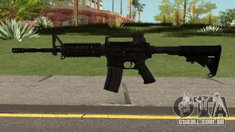 COD: Modern Warfare Remastered M4A1 para GTA San Andreas
