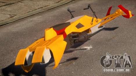Star Wars Speeder Bike para GTA 4