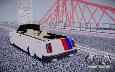 VAZ 2104 Conversível para GTA San Andreas traseira esquerda vista
