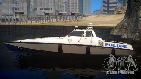 Predator NYPD para GTA 4