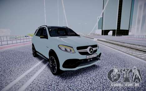 Mercedes-Benz GLE 63S para GTA San Andreas