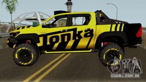Toyota Hilux Tonka Concept 2017 para GTA San Andreas esquerda vista