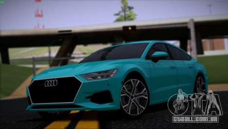 Audi A7 para GTA San Andreas