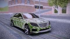 Mercedes-Benz S63 AMG Tuning para GTA San Andreas