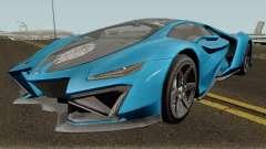 Pegassi Millennium GTA V IVF para GTA San Andreas