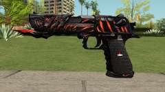 Desert Eagle Born Beast para GTA San Andreas