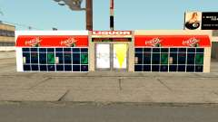 New Liquor Store with Products of The Year 1992 para GTA San Andreas