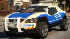 VW Concept T German Police Car para GTA 4