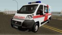 Fiat Ducato Lithuanian Ambulance para GTA San Andreas