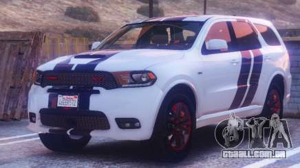 Dodge Durango SRT HD 2018 1.6 para GTA 5