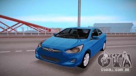 Hyundai Solaris Stock para GTA San Andreas