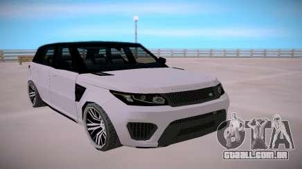 Land Rover Range Rover SVR SA StyledLow Poly para GTA San Andreas