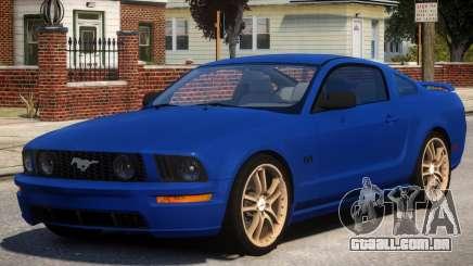 Ford Mustang GT V1 para GTA 4