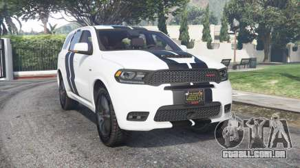 Dodge Durango SRT Mopar 2018 v1.9.1 [add-on] para GTA 5