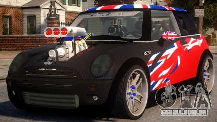 Mini Cooper S V8 UK para GTA 4