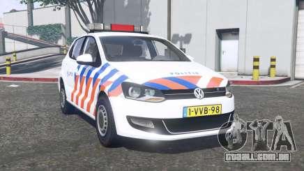 Volkswagen Polo 2011 Politie [ELS] [replace] para GTA 5
