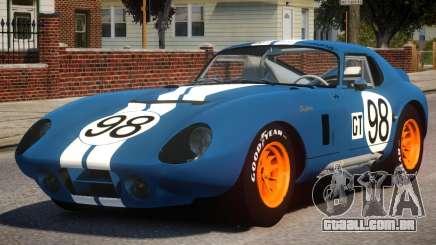 1965 Shelby Cobra PJ3 para GTA 4