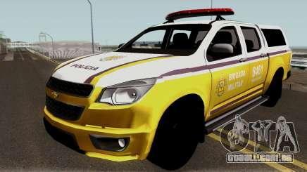 Chevrolet S-10 Brigada Militar para GTA San Andreas