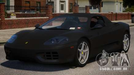 2000 Ferrari 360 Spider V1.1 para GTA 4