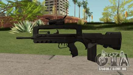 FAMAS Black para GTA San Andreas