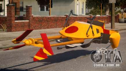 Star Wars Speeder Bike para GTA 4