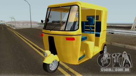 Real Indian Rickshaw para GTA San Andreas
