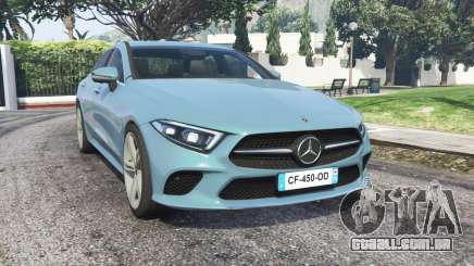 Mercedes-Benz CLS 450 (C257) 2018 v1.1 [replace] para GTA 5