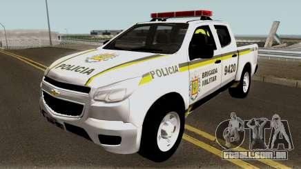 Chevrolet S-10 Brazilian Police para GTA San Andreas