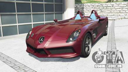 Mercedes-Benz SLR McLaren (Z199) 2009 [add-on] para GTA 5