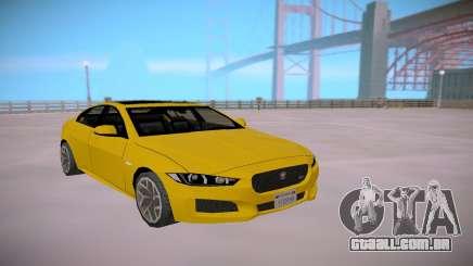 Jaguar XE-S 2015 SA Styled Low Poly para GTA San Andreas