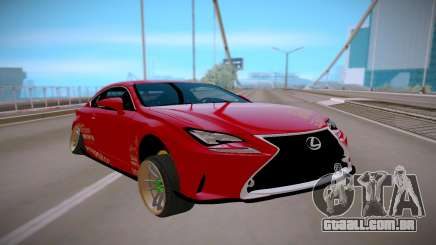 Lexus IS 350 F-Sport para GTA San Andreas