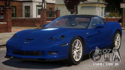 ZR1 Chevrolet Corvette para GTA 4
