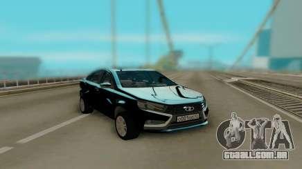 Lada Vesta Black para GTA San Andreas