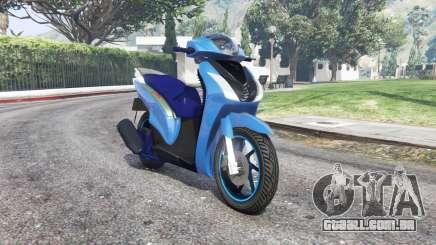 Honda SH150i v1.1 [replace] para GTA 5