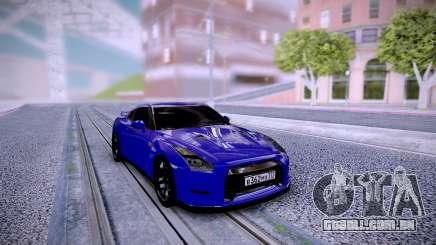 Nissan GT-R R35 Dima Gordey para GTA San Andreas