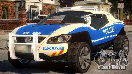 VW Concept T German Police Car para GTA 4